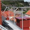 Weland räcke för takbrygga