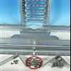 Weland skorstensplattform, komponenter