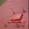 Weland skyddsräcke på tak, rödlackerat