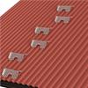 Weland taksteg för plåttak, monterade i zigzag-mönster