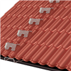 Weland taksteg och glidfäste för takpanneplåt