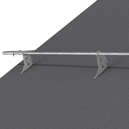 Weland nock- och takfotsräcke