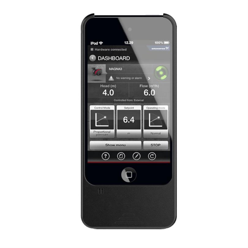 Grundfos GO Remote pumpstyrning
