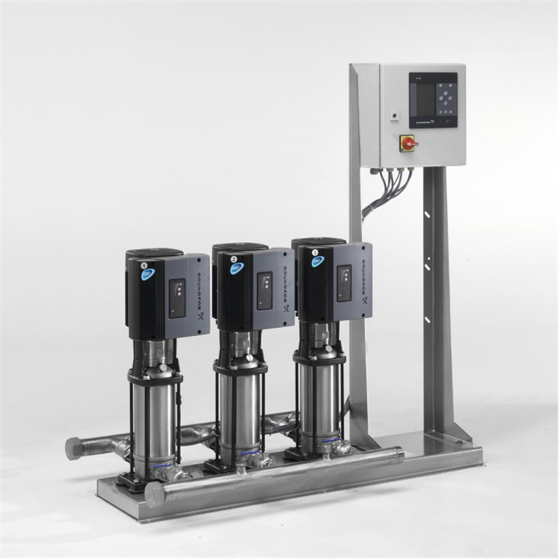 Grundfos Hydro MPC tryckstegringssystem