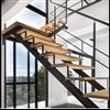 Moderna trappor Tvåbalkstrappa