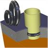 WiSecure W802 tätningsring, radontätning