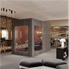 Mobilt mötesrum, fristående multi rum, glasade delar, ljuddämpande, helteckande matta