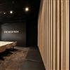 Studio Design ribbpanel på vägg i konferensrum