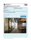 Flush Front väggsystem glas/trä