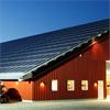 Deson Solel solelsystem på industrifastighet