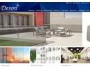 Deson Glasräcken på webbplats
