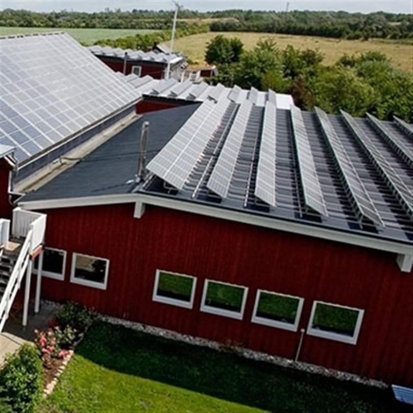 Deson Solel och solceller på industrifastigheter