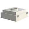 Camfil Cleanseal tilluftsdon, toppanslutning