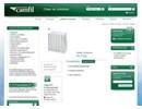 Camfil grundfilter på webbplats