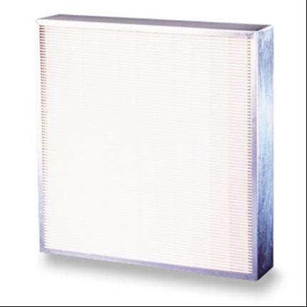 Tätveckade luftfilter med stor filteryta
