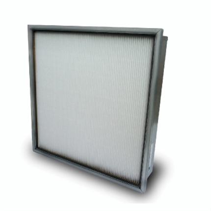 Tätveckat luftfilter för ventilationsanläggningar