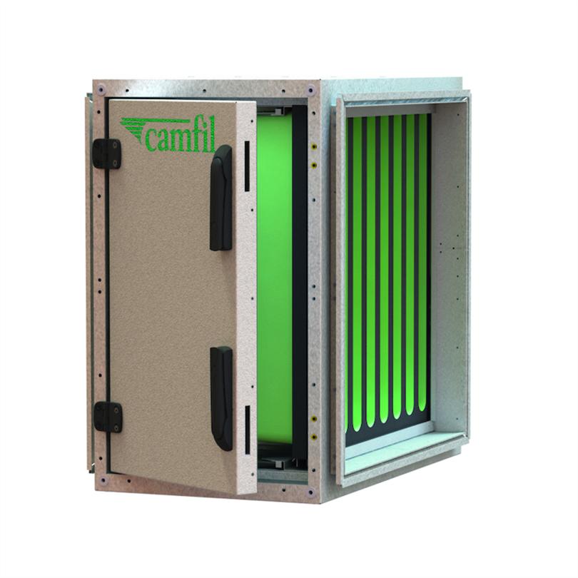 CamCube HF-S filterskåp för påsfilter