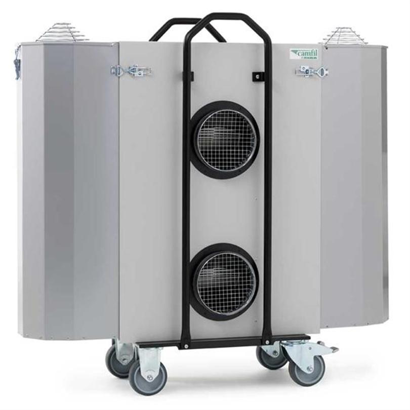 Luftrenare för dammiga och rökiga miljöer
