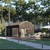 Woodworks Attefallshus Hållbar Modern, 30 kvm