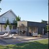 Woodworks Attefallshus Trendig Vision, 30 kvm