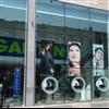 UpGlaze VidaPoint rörligt glassystem på fasad, galleria