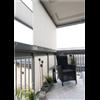 Sakkes sokskydd/insynsskydd på inglasad balkong