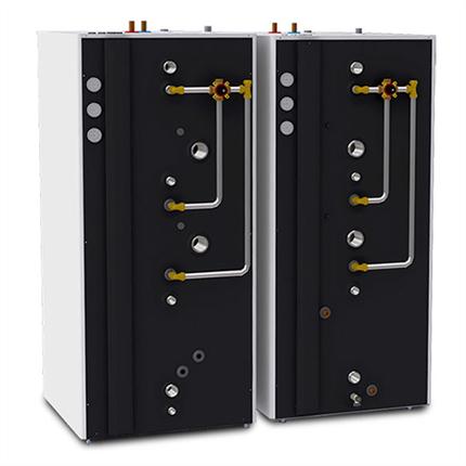 Aqualux Teknik 500, 750 ackumulatortankar