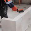 Montering av Bauroc ELEMENT lättbetongplattor i ickebärande mellanväggar