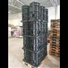 Unimi-1base ECO plastic fundament för laddstolpar på lastpall