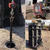 Unimi-1base ECO plastic fundament av återvunnen plast för laddstolpar