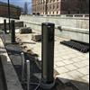 Unimi Solutions fundament och påkörningsskydd för laddstationer, Slottskajen, Stockholm