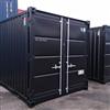 Containertjänst 10 fot container, svart