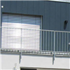 Rockpanel Lines² fasadplankor, vertikalt monterade