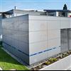 Rockpanel Metallic fasadskivor, Christophorus skola, Muelheim-Kaerlich, Tyskland