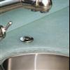 Magna glaskeramik i köksbänk