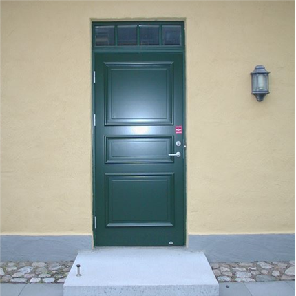 Dörr & Portbolaget Ytterdörr simpel, grön
