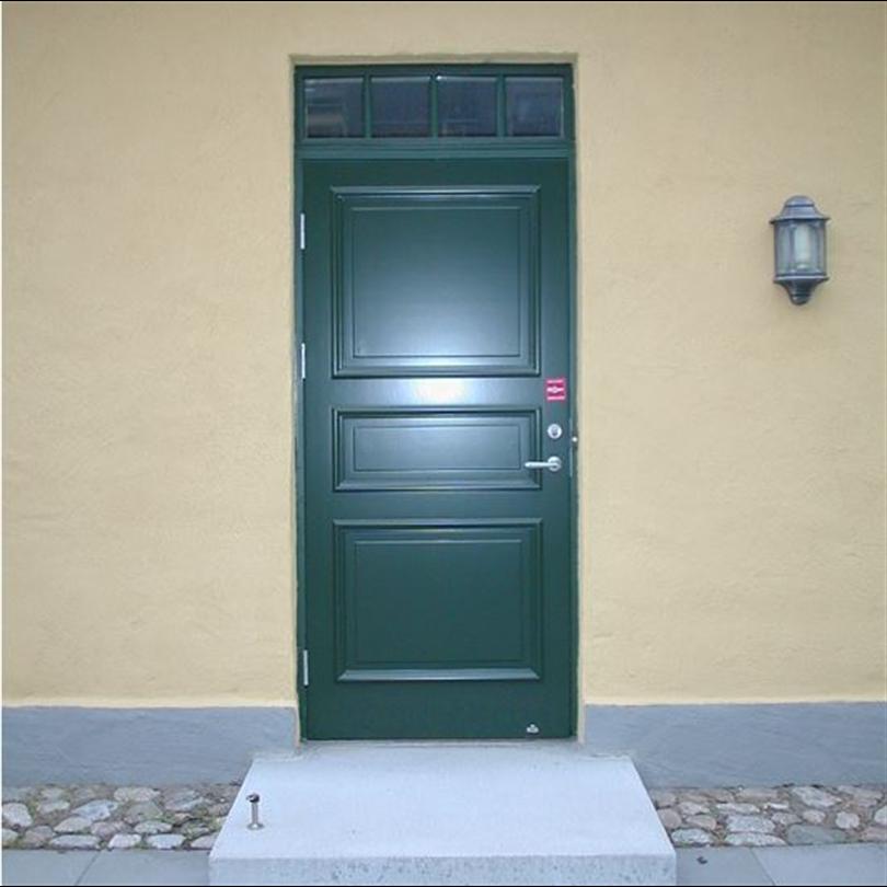Dörr & Portbolaget entrédörrar, isolerade