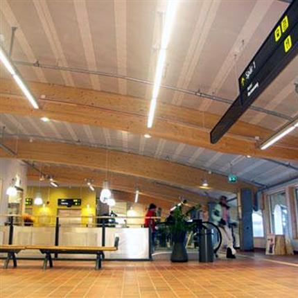 Lättelement akustik tak-/väggelement