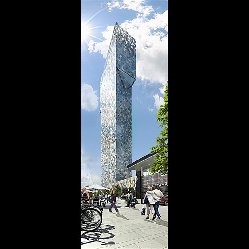 Lättelement ytterväggelement, Victoria Tower