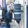 Dustcontrol Stationär föravskiljare monterad på vägg