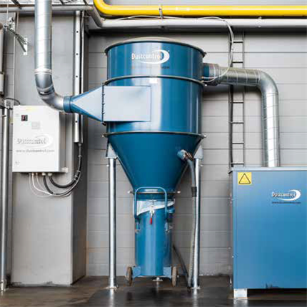 Dustcontrol Filterrensning S34000 EX