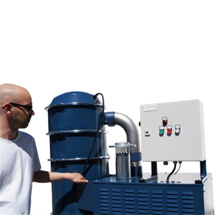 Dustcontrol Kompakta sugsystem