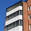 Alulux Windoor balkonginglasningssystem WD450