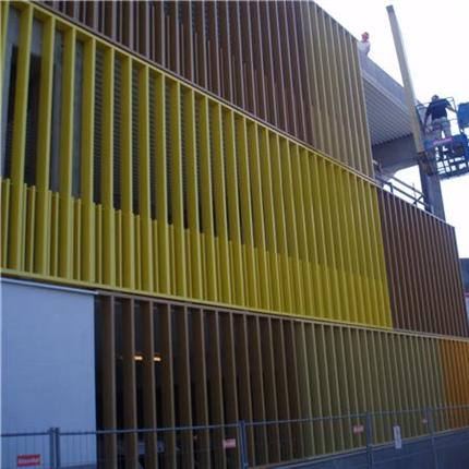 Alulux fasad- och P-husgaller