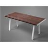 Extery Klaar wood parkbord, thermo vit stomme