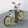 KNM Universal cykelpollare av gummi