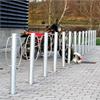 KNM varmförzinkade cykelpollare