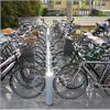 Robust cykelställ, varmförzinkat stål, lackerat stål, cykelställ utan tak, cykelgarage