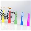 KNM Parken pulverlackerade cykelpollare