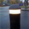 KNM Standard LED belysningspollare av gummi